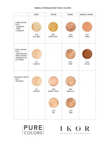 Pure Colors - Podkład Mineralny nr 10 - Latte